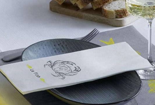Förmedla ditt varumärke och budskap hos dina gäster med specialtryckta servetter. Servetter med tryck