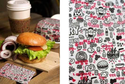 Förpacka dina ätbära produkter med egna wrappapper snabbt och hygieniskt. Wrappapper med tryck